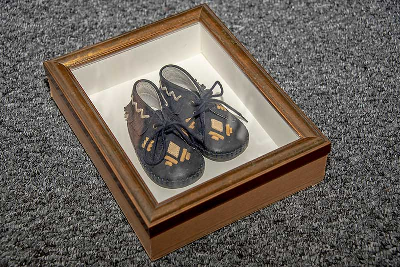 Shoes in Frame, Saddleworth Picture Framing