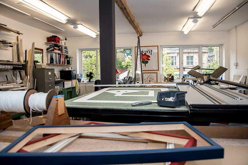 Our Workshop, Saddleworth Picture Framing